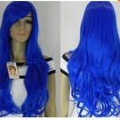 "NEW WOMEN""S BLUE LONG STRAIGHT FULL WIG Y1502"