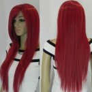 # 29 new red long straight full wig