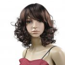 Han edition temperament new natural fashion short curl rolls head wig