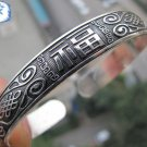 Beautiful Tibet Silver Totem Bangle Cuff Bracelet
