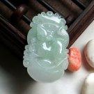 Free shipping good luck talisman A natural jade pendant material Zodiac Rat Char
