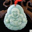 Beautiful and charming jade money laughing Buddha pendant