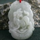 delivery-good luck of jadeite jade of waxy dog charm pendant