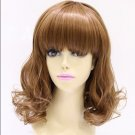 delivery in the new fashion of short curly yellow wig Edit