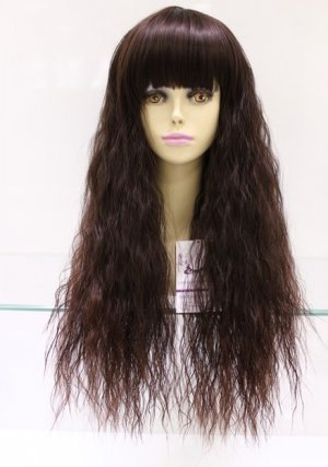 new fashion colors comprehensive long curly hair wig woman