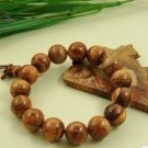 Red sandalwood, with silver bracelet beads hand hand bead be