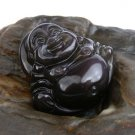 Beautiful The new Buddha S3A-level kinds of natural ice obsidian rainbow eye pendant