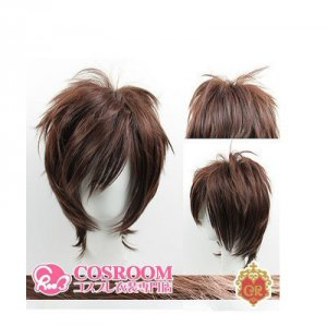 HOT SELL! top-quality Blue Exorcist Cosplay Short Dark Brown Wig