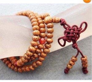 108 Bodhi Seed Beads Tibet Buddhist Prayer Mala Necklac