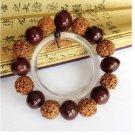 Natural Seed Beads Tibetan Buddhist Prayer Wrist Mala