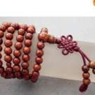 108 Stone Beads Tibetan Buddhist Prayer Mala Necklace
