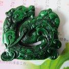 Old jade carving amida Buddha