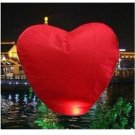 20 X PCS Heart shape FIRE SKY CHINESE LANTERNS BIRTHDAY WEDDING PARTY romantic