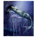 Handicrafts Art Repro oil painting:Mermaid In canvas 24x36 Inch