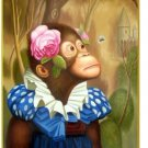"""Art produced oil painting: flower of sun wukong in 24 X36 canvas"""""""