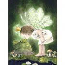 """Handicrafts Repro oil painting:""""angel kiss frog"""" 24x36"""""""