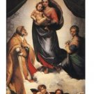 """Handicrafts Repro oil painting:""""Mother and Jesus"""" 24x36"""