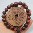 Vietnam chrysanthemum pear the four big four RuiShou bracelet with god