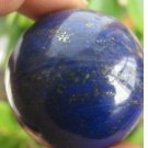 NATURAL Lapis Lazuli crystal Healing SPHERE BALL 40mm