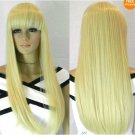 Hot Sell ​2012 New Fashion Long Light blonde straight Women's  Wig