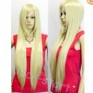 2012 New hot ~ long brown yellow straight women's wig