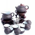 Yixing China Violet arenaceous tea set suit kung fu tea set 14 times