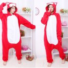 The new kigurumi pajamas cosplay costume adult men and women's dress (A Li)