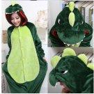 new kigurumi pajamas cosplay costume adult men and women's dress (crocodile)