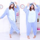 new kigurumi pajamas cosplay costume adult men and women's dress (Lilo And Stitch)