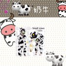 Neutral role popular pajamas Kigurumi children clothing children play animal Jumpsuit (cow)