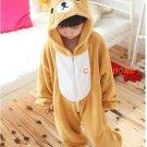 Neutral role in the popular children's play Animal Kigurumi pajamas jumpsuit (loose Bear)