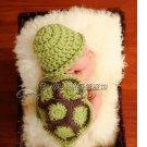 Korean baby photo studio photography clothing handmade knitted baby turtle birthday