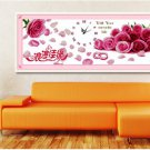 Jiayuan romantic roses hand embroidery stitch substantial new living room bedroom