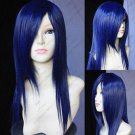fashion Black Straight Bangs Cosplay Wig