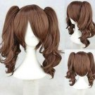New Lolita Brown Two Ponytail Cosplay Wigs Cos Wig