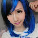 Lolita Harajuku Women Lady Medium straight hair Full Wigs Cosplay Party Wig