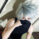 Anime Hatake Kakashi New Arrival Silver Grey Short Cosplay Wig