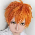 Haikyuu volleyball guys hinata shyouyou orange short cosplay wig