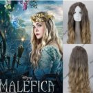 Maleficent Princess Aurora Cosplay Wig Curly Cos Full Hair Wig
