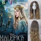 Maleficent Princess Aurora Cosplay Wig Curly Cos Full Hair Wig