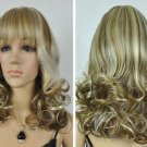 NEW fashion women lady girl Mix long curly cosplay wigs/wig + 6791