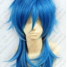 Hot! Dramatical Murder DMMd AOBA Long Blue mix cosplay wig