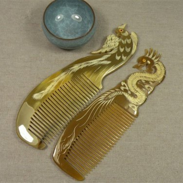 Natural comb styling comb massage comb Dragon