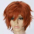Black Butler Puppet Master Into the river is a Cosplay Wig Short Orange Hair
