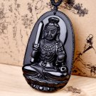 Natural obsidian does not move the Buddha pendant of the zodiac chicken