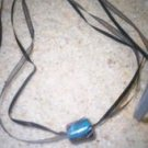 Glass Bead on Ribbon