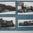 Steam Locomotives of Russian Railways16 Postcards Set 2