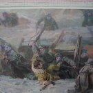 Stalingrad Battle Panorama WW2. 16 Picture Cards Set