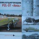 Polish WW2 Bomber Aircraft PZL-37 LOS