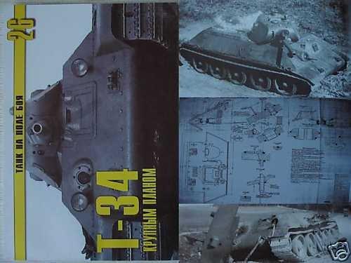 Soviet/Russian WW2 Tank T-34 ( close-up ) P.1